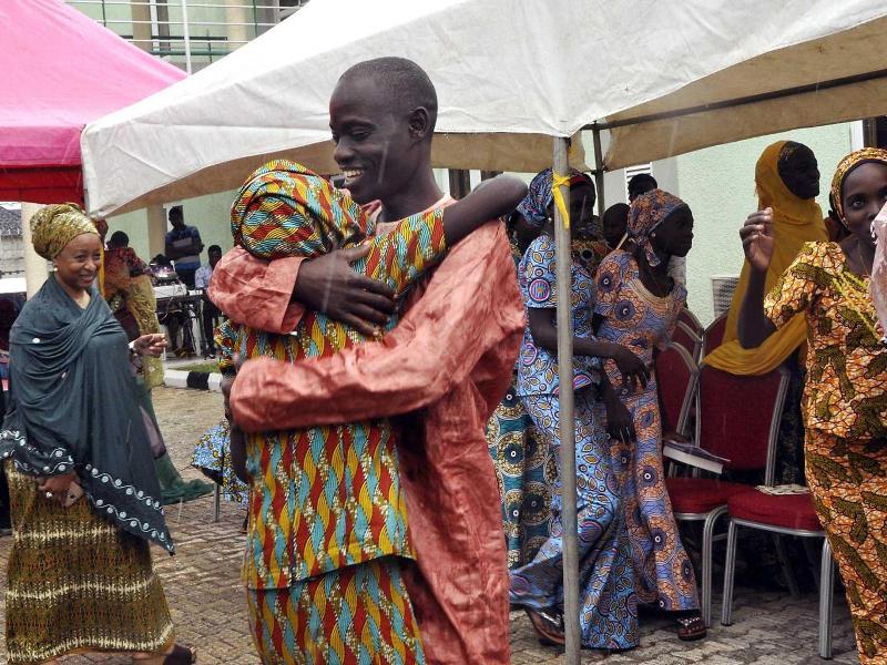 Gadis Chibok menolak dibebaskan (Foto: Independent)