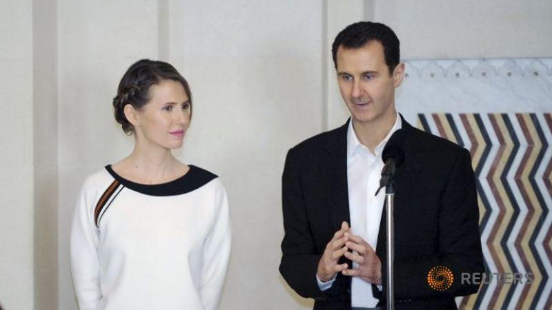 Istri Presiden Suriah Asma Assad (Foto: Reuters)