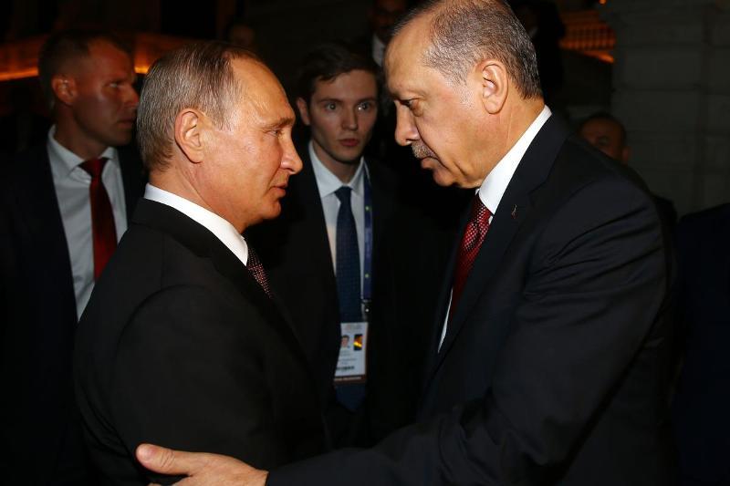 Presiden Putin dan Erdogan (Foto: AA)