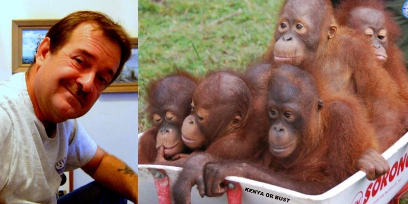 Wasko (kiri) dan {meme} rasisme terhadap Obama. (Foto: Facebook)