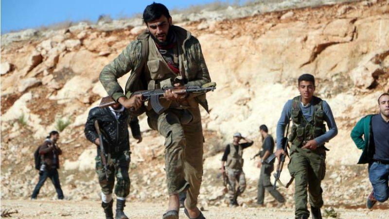 Foto militan pemberontak Suriah di Aleppo (Foto: AFP)