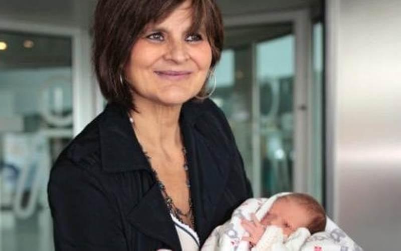 Lina Alvarez dan putrinya yang bernama sama. (Foto: EPA)