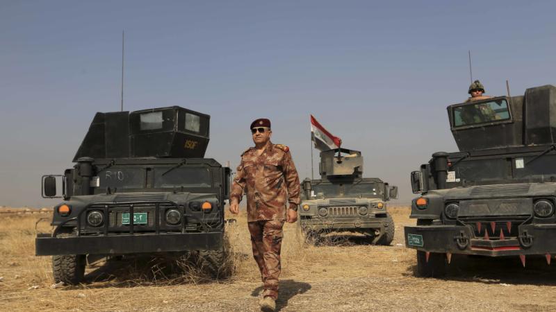 Foto Letnan Jenderal Talib Shaghati (Foto: PA)