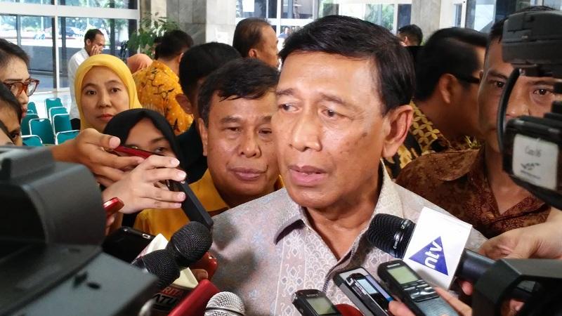 Menkopolhukam Wiranto (Foto: Bayu Septianto/Okezone)
