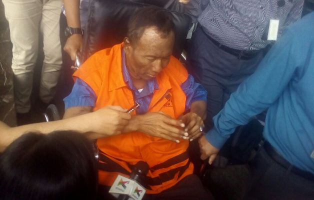 Sugiharto Ditahan KPK (Foto: Salsabila)