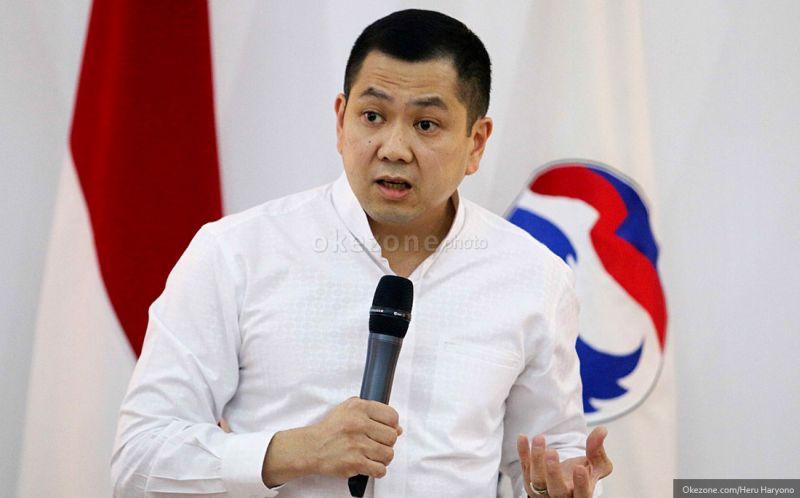 Ketua Umum Partai Perindo Hary Tanoesoedibjo (Dok Okezone)