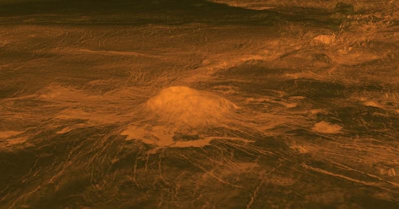 Terungkap, Venus Miliki Gunung Api Aktif