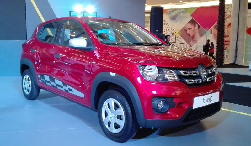 Renault Kwid hadir dan menggoda konsumen di segmen LCGC (Mali/Okezone)
