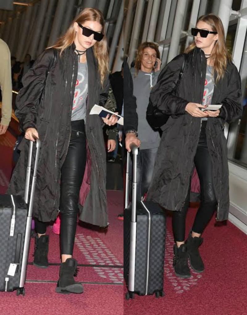 Top Fashion 1 Spesial Dari Zayn Malik Untuk Gigi Hadid Ankle Boots 39 Zigi 39 Okezone Lifestyle