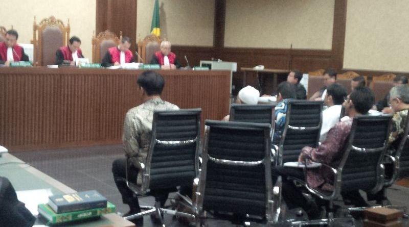 Tujuh Anggota DPRD Sumut DIdakwa Terima Uang dari Gatot (Foto: Arie/Okezone)