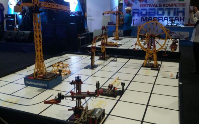 Puluhan Siswa Madrasah Ikuti Kontes Robotik Nasional