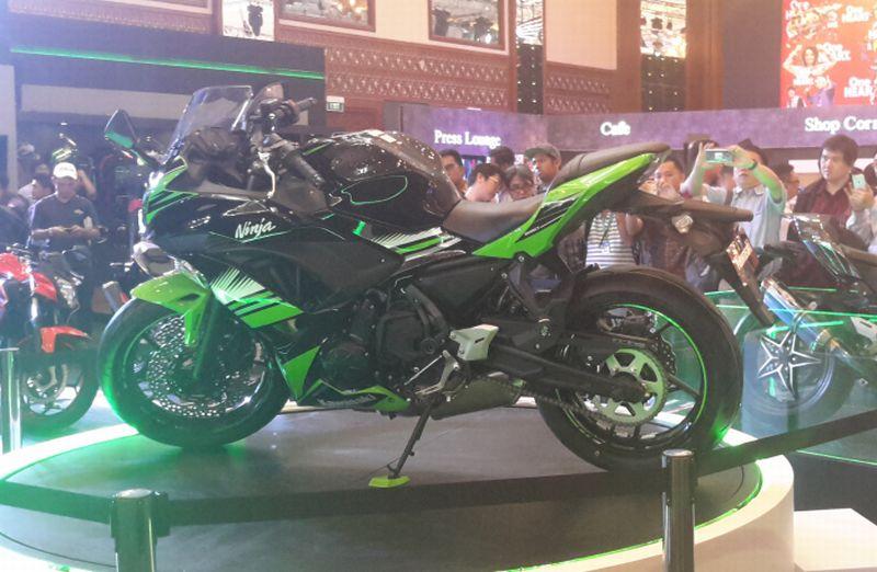 Kawasaki luncurkan Ninja 650 di Imos 2016 (Foto: Pius/Okezone)