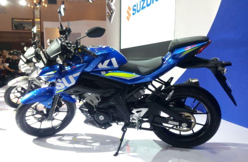 Suzuki GSX-R 150 dan GSX-S 150 akan diproduksi di pabrik Bekasi dan diekspor ke negara-negara ASEAN (Foto: Santo/Okezone)