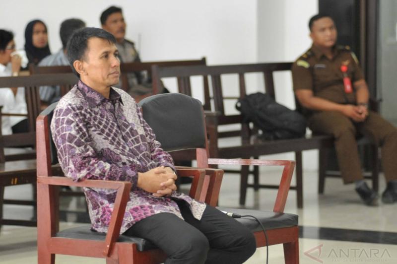Mantan Gubernur Sumut Gatot Pujo Dituntut Delapan Tahun Bui