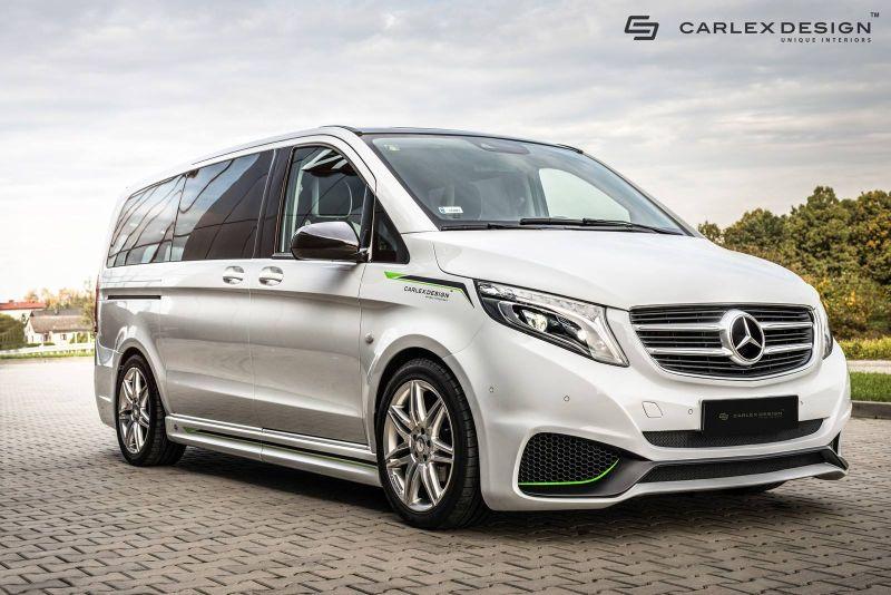 Diracik Carlex Design Mobil Van Mercy Ini Jadi Sporty Lebih Mewah Okezone Otomotif