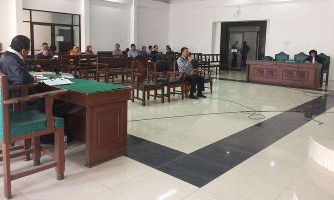 Bacakan Pleidoi, Gatot Pujo: Saya Tak Rekomendasikan Nama Penerima Bansos