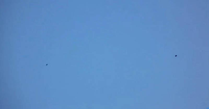 Penampakan UFO Mirip Balon Hebohkan Masyarakat
