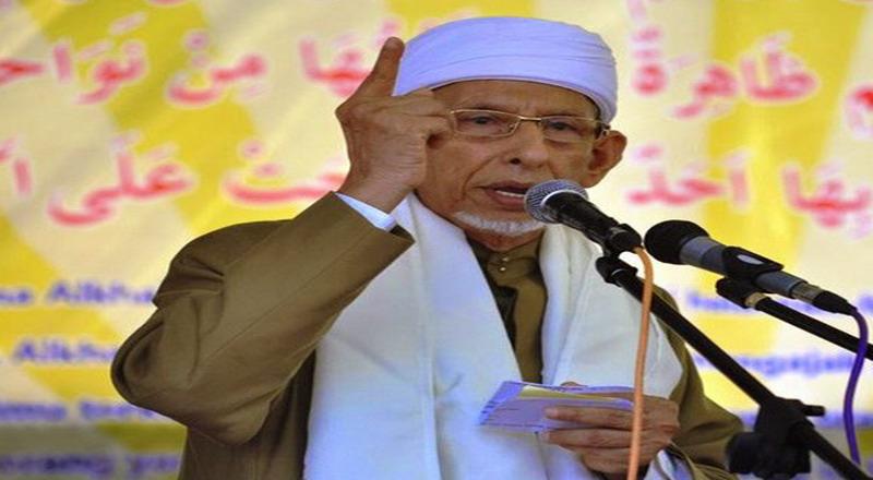 Ketua Utama Pengurus Besar Alkhairaat, Habib Said Saggaf Al-Jufri (Foto: Antara)