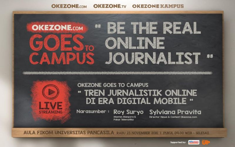 Okezone Goes to Campus Sambangi Universitas Pancasila