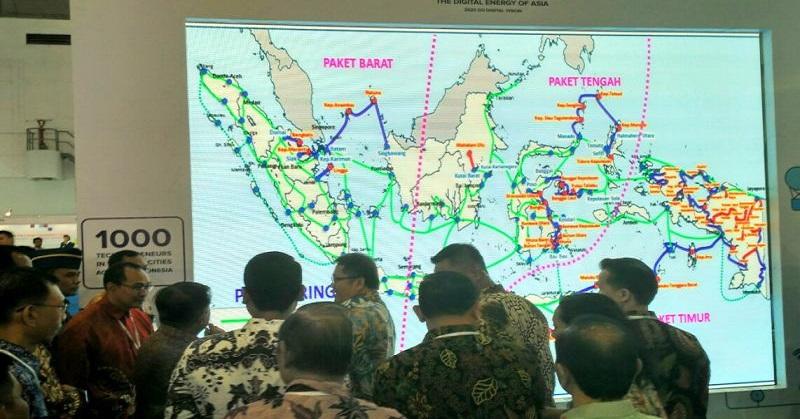 Menkominfo: Kecepatan Download di Papua dan Maluku 300 Kbps