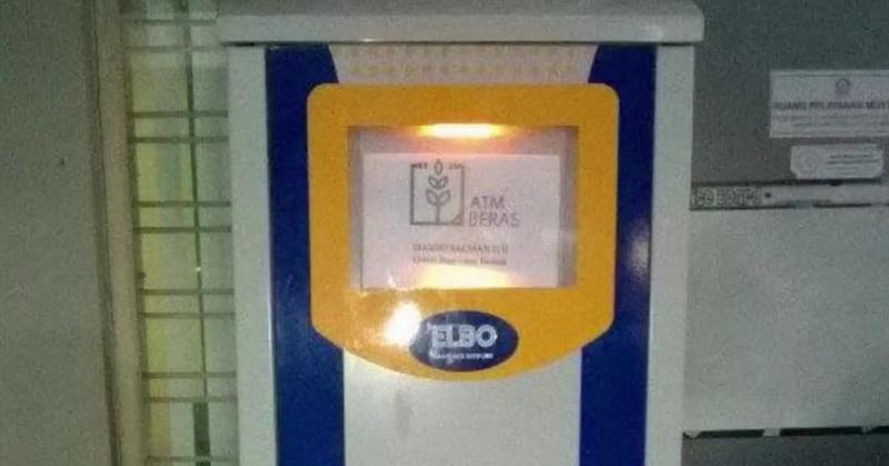 Teknologi ATM Beras Buatan Masjid Salman ITB