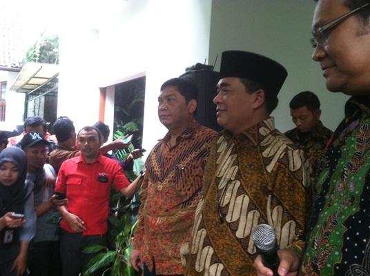 Ketua DPR Ade Komarudin ke Rumah Megawati (Foto: Taufik Fajar)