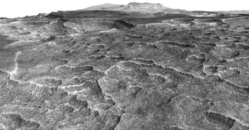 Studi Terbaru Ungkap Kandungan Es Terbesar di Mars