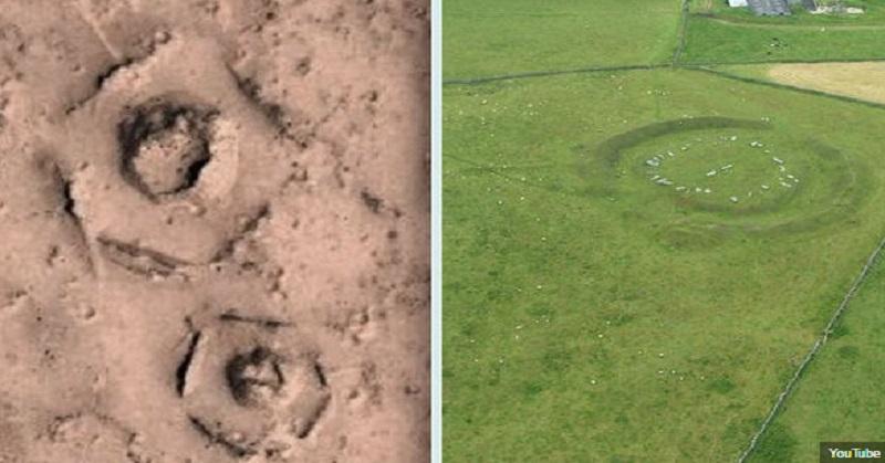 Dasar Runtuhan Kota Terlihat di Permukaan Mars