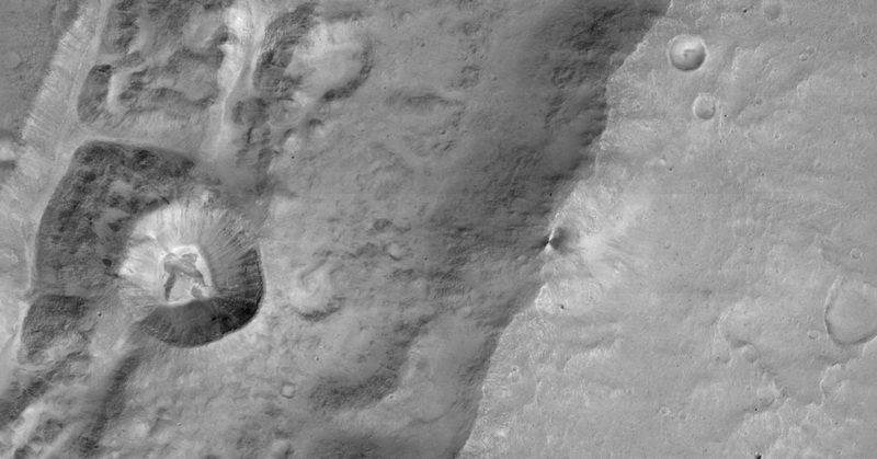 Bidikan Orbiter Baru ESA Perlihatkan Foto Mars