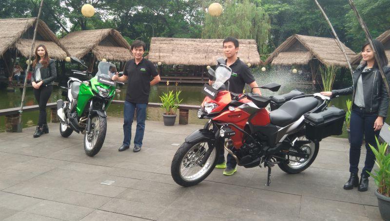 Kawasaki Motor Indonesia luncurkan Versys-X 250 (Foto: Mufrod/Okezone)