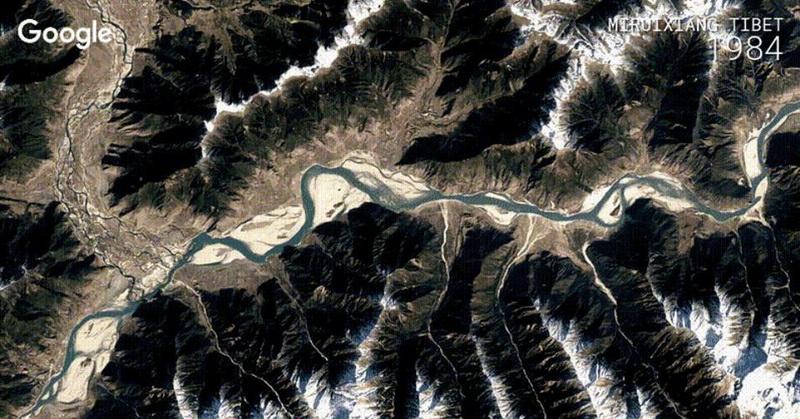 Google Earth Perubahan Dataran Bumi Sejak 1984