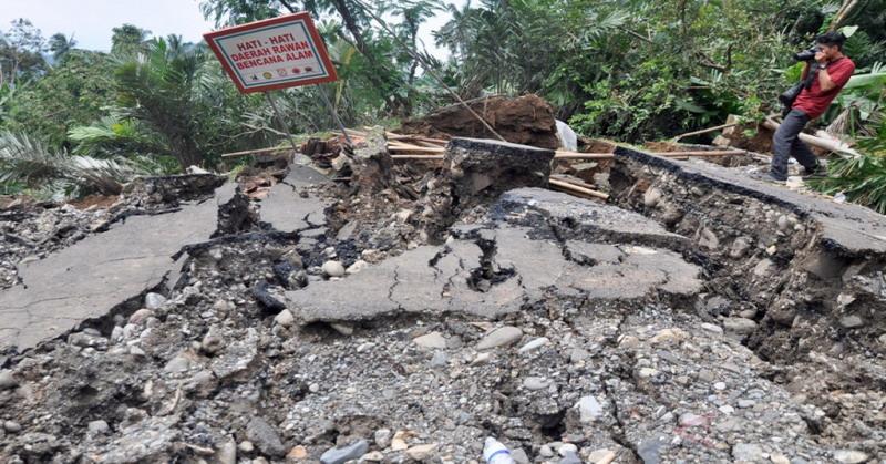 Bencana Tanah Bergerak Rusak Belasan Rumah Di Purworejo Okezone News