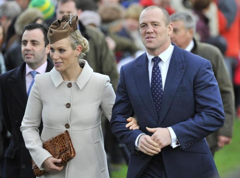 Zara Phillips dan Mike Tindall. (Foto: Reuters)
