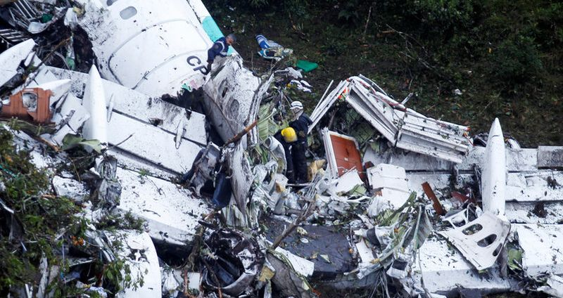 Kecelakaan Pesawat di Kolombia Sisakan Enam Korban Selamat. (Foto: Reuters)