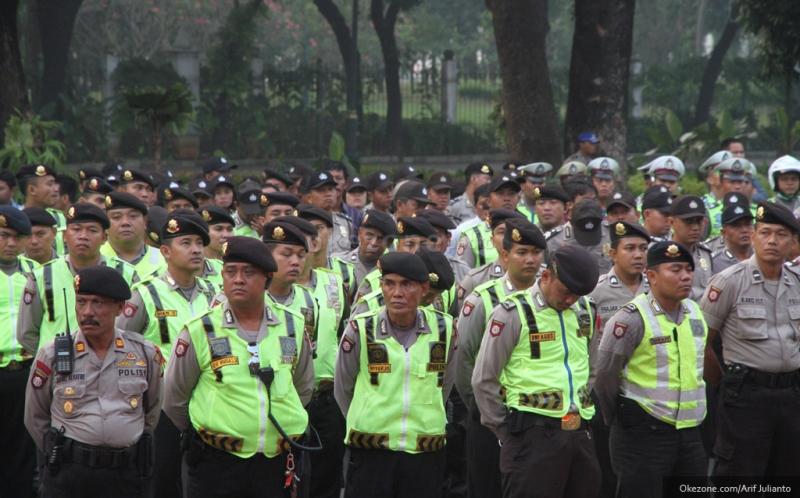 Apresiasi Aparat, Penjaga NKRI Jadi Trending Topic Indonesia