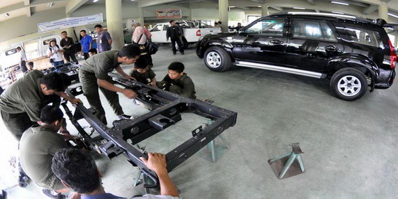 Mobil Desa dirancang untuk bisa dirakit oleh Masyarakat dan siswa SMK (Ilustrasi: Okezone)
