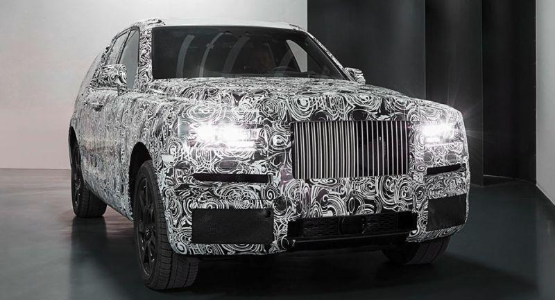 Gambar penggoda Rolls-Royce Cullinan (Carscoops)