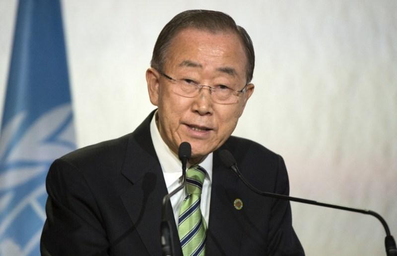 Sekjen PBB Ban Ki-moon meminta maaf atas wabah kolera Haiti (Foto: Fadel Senna/AFP)