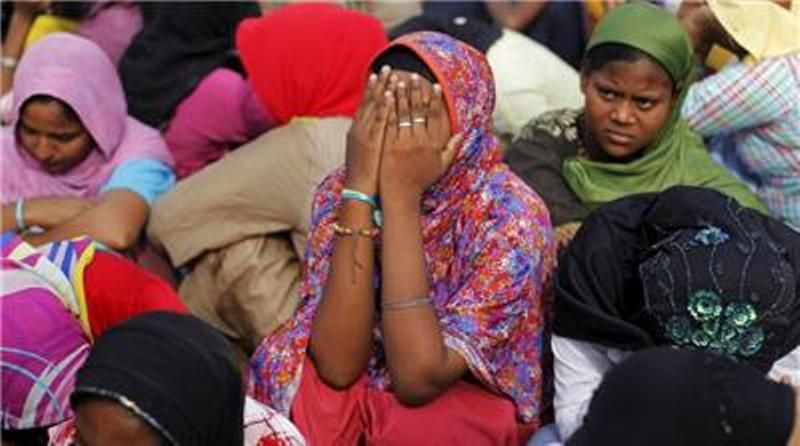 Ilustrasi: pengungsi Rohingya. (Foto: Al Jazeera)