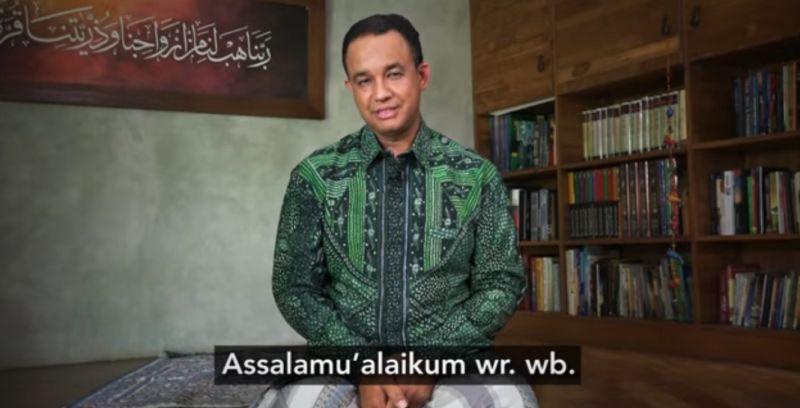 Pesan Calon Gubernur DKI Jakarta Anies Baswedan untuk dunia, tentang Aksi Damai 2 Desember. (Foto: YouTube Anies Baswedan)