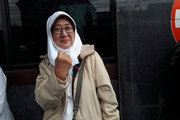 Ernalia, istri Sri Bintang Pamungkas (Foto: Sindonews)