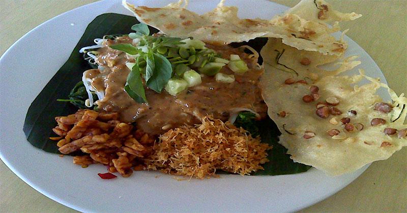 Nasi Pecel Jawa Timuran Makanan Favorit Arda Naff Okezone