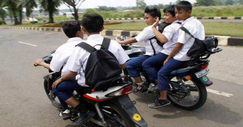 Larangan Pelajar Bawa Motor, Pemkot Solo Akan Razia Sekolah : Okezone News