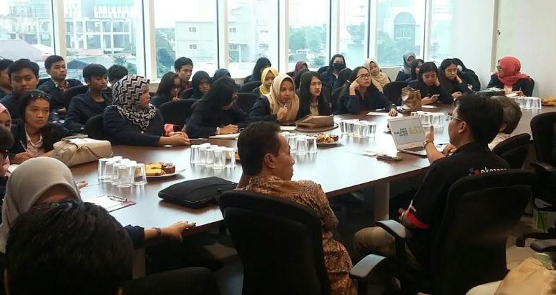 Mahasiswa IPB Belajar Jurnalistik Online dengan Pemred Okezone.com