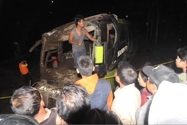 Sopir Bus Handoyo Resmi Jadi Tersangka Kecelakaan Maut