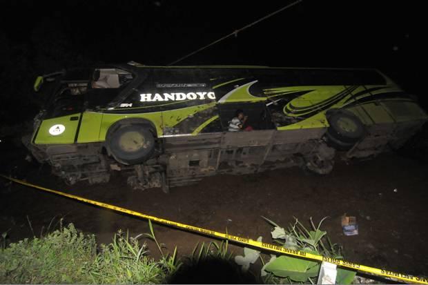 KNKT Kirim Tim Selidiki Kecelakaan Bus Handoyo
