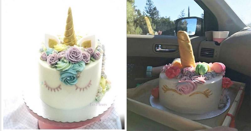 Top Food 2 Minta Kue Ulang Tahun Unicorn Seperti Ini
