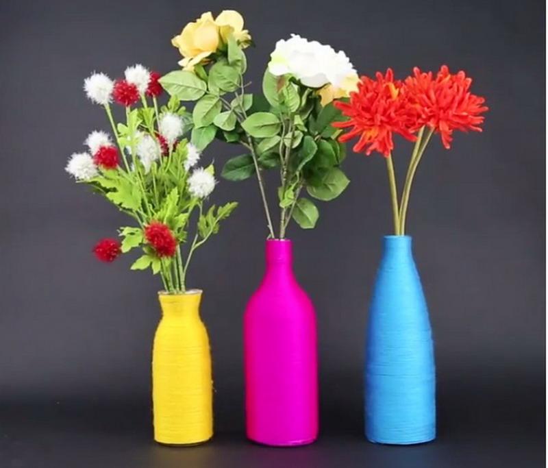 Kreasikan Botol Bekas Jadi Vas Bunga Full Color Okezone Lifestyle
