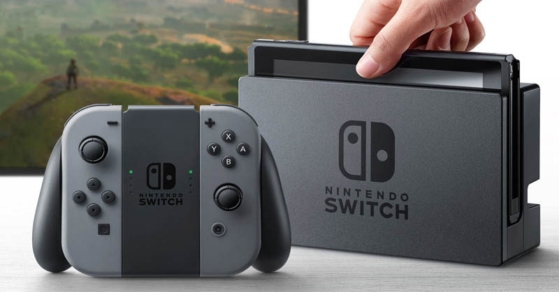 Nintendo Switch Bawa Memori Internal 32 GB