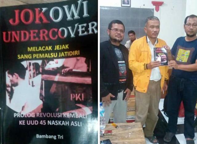 Hasil gambar untuk penulis jokowi under cover